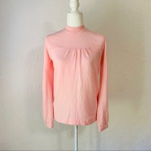 Kim roger pink sweater size small